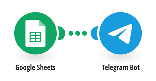Get Telegram messages for new Google Sheets rows