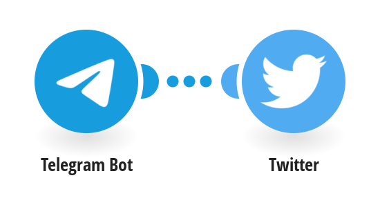 Send Twitter direct messages for new Telegram messages