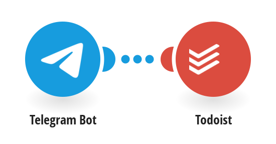 Add new Telegram messages to a specific Todoist project as comments