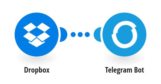 Send new Dropbox files to a Telegram channel