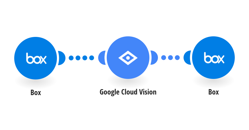 Detect text within new Box images using Google Cloud Vision (OCR) and save it to Box as a new file