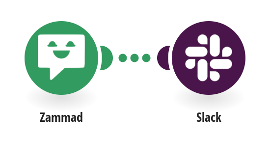 For Every new Zammad Ticket get a  Notification on Slack