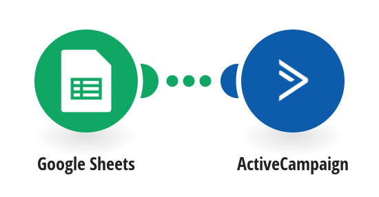Create ActiveCampaign subscribers from new Google Sheets rows