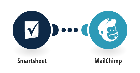 Create MailChimp subscribers from new Smartsheet rows