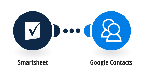 Add Google Contacts from new Smartsheet rows