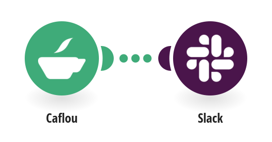 Send Slack messages for new projects in Caflou