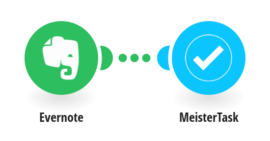 Create MeisterTask tasks from new Evernote notes