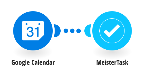 Add new Google Calendar events to MeisterTask as tasks