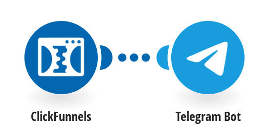 Send Telegram messages for new ClickFunnels contacts