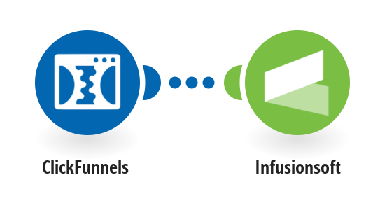 Add new ClickFunnels contacts to Infusionsoft