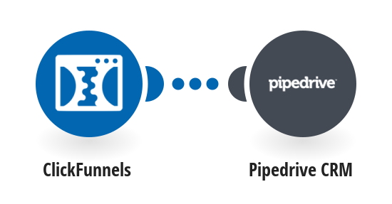 Add new ClickFunnels contacts to Pipedrive as deals
