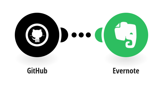 Create Evernote notes from new GitHub gists