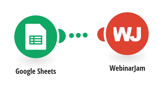 Add new WebinarJam registrants from new Google Sheets rows