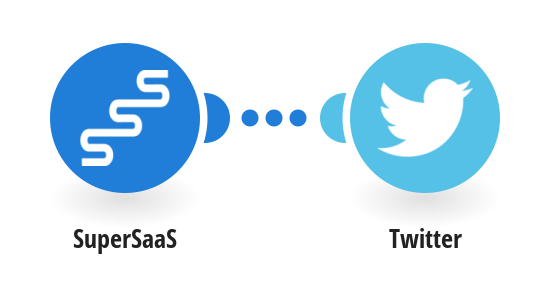 Post a message on your Twitter account with every new SuperSaaS appointment