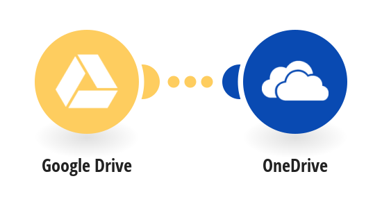 Copy new Google Drive files to OneDrive