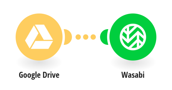 Back up new Google Drive files to Wasabi