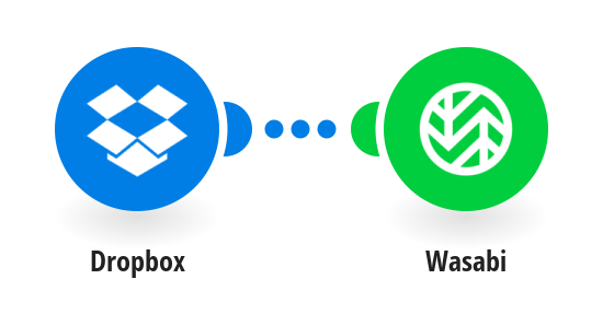 Back up new Dropbox files to Wasabi