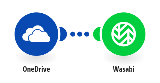 Back up new OneDrive files to Wasabi