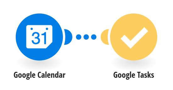 Add new Google calendar events to Google Tasks as tasks