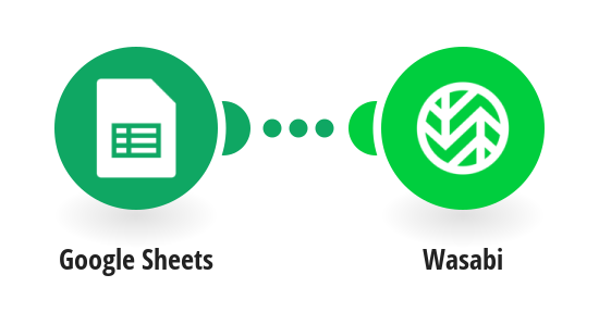Create Wasabi buckets from new Google Sheets rows