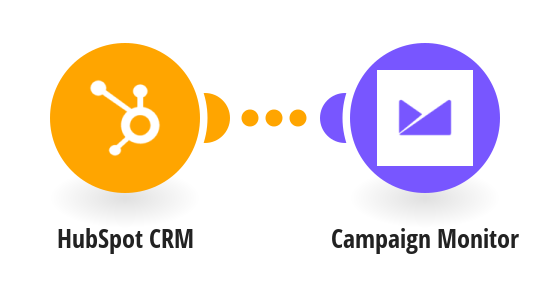 Add contacts from a HubSpot CRM list to Campaign Monitor as subscribers