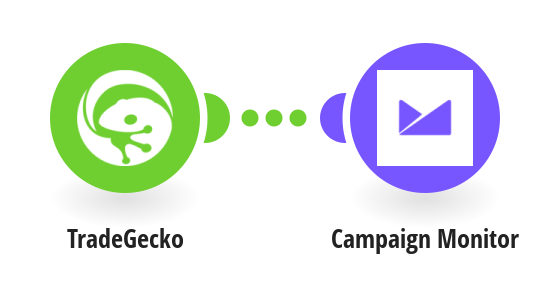 Add new Tradegecko contacts to Campaign Monitor as subscribers