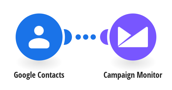 Add new Google Contacts to Campaign Monitor as subscribers