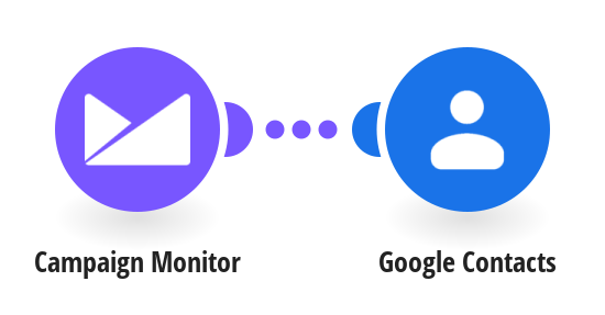 Add new Campaign Monitor contacts to Google Contacts