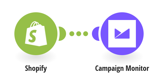Add new Shopify customers to Campaign Monitor as subscribers