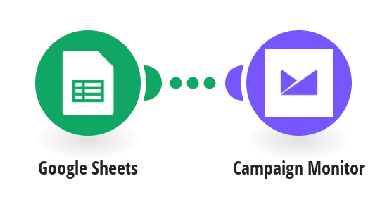 Add subscribers to Campaign Monitor from a Google Sheets spreadsheet