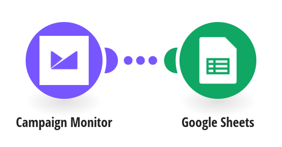 Save new Campaign Monitor subscribers to a Google Sheets spreadsheet