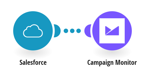 Add new Salesforce contacts to Campaign Monitor