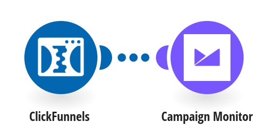 Add new ClickFunnels contacts to Campaign Monitor