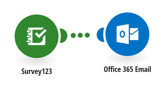 Send an email from Office  365 mail when a new survey is submitted
