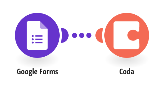Save new Google Forms responses to a Coda doc