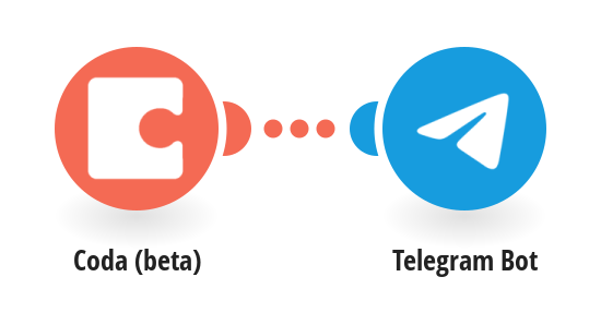 Send Telegram messages for new rows in a Coda table