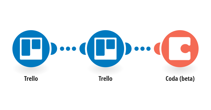 Add new Trello cards to a table in a Coda doc