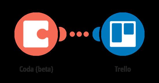 Create Trello board from new rows in a Coda doc