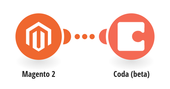 Add new Magento 2 orders to a table in a Coda doc