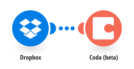Add info about new Dropbox files to a table in a Coda doc