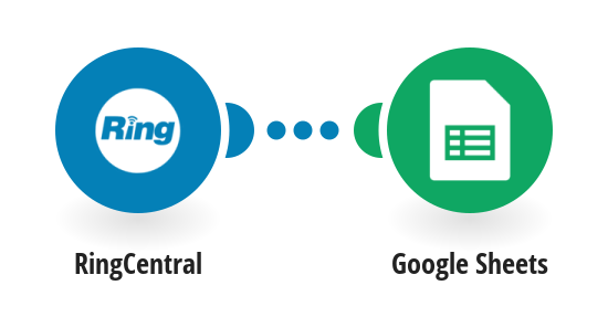 Add new RingCentral messages to a Google Sheets spreadsheet as new rows