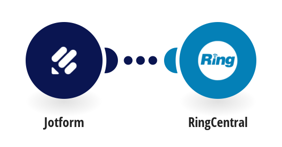 Send RingCentral SMS messages for new JotForm submissions