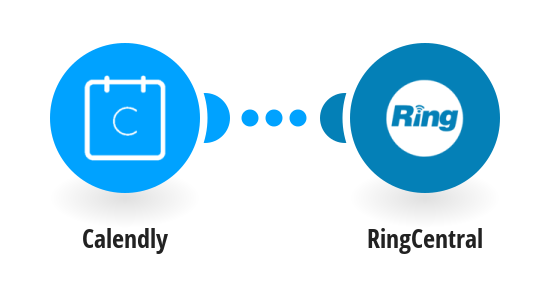 Send RingCentral SMS messages for new Calendly events