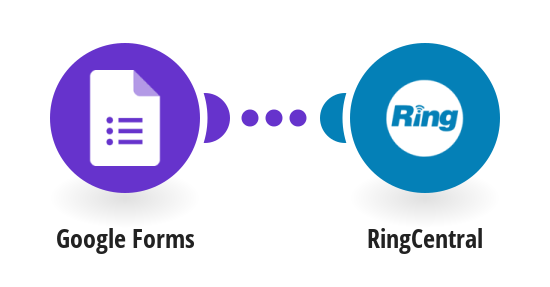 Send RingCentral messages for new Google Forms submissions