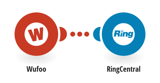 Send RingCentral SMS messages for new Wufoo form submissions