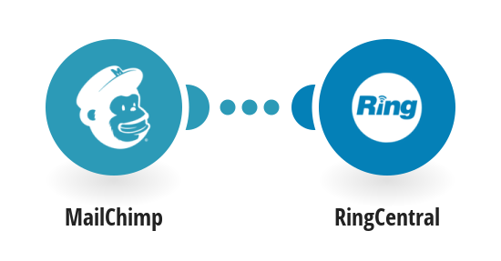 Send RingCentral SMS messages for new MailChimp subscribers