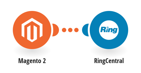 Send RingCentral SMS messages for new Magento 2 orders