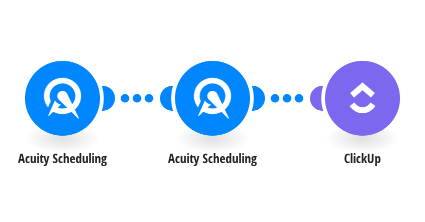 Create new ClickUp tasks from new Acuity Scheduling appointments