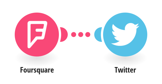 Tweet for new Foursquare checkins