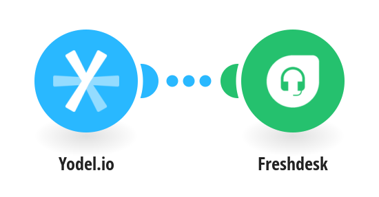 Create Freshdesk tickets when you receive a call from a specific number via Yodel.io